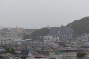 台風21号の強風