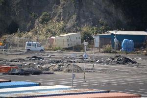 江の島かもめ駐車場もひどい状態