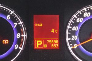 今朝は今季一番の寒さかも