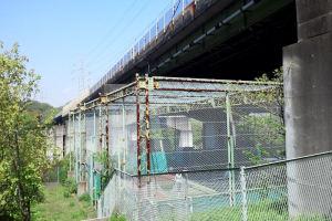 テニスコートフェンス改修工事