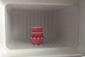 きれいになった冷凍庫内