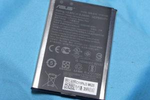 スマホZenFone2Laserバッテリー交換