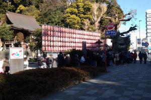 お昼頃の瀬戸神社