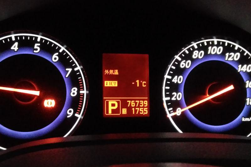 今季一番の寒さ