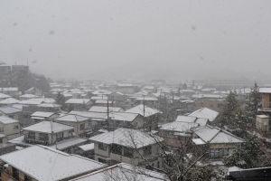 横浜積雪17cmの大雪