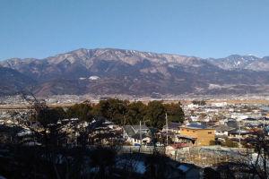 2052mの櫛形山