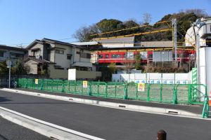 3街区駅ビル建設予定地隣の敷地