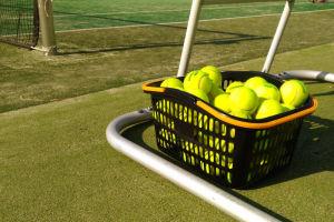 とても環境の良いテニスコートです
