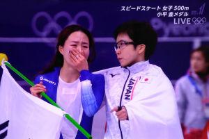 平昌冬季五輪 日本2つ目の金メダル
