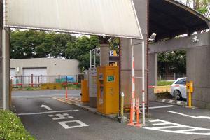 第1駐車場入口