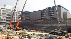 金沢区公会堂建設中