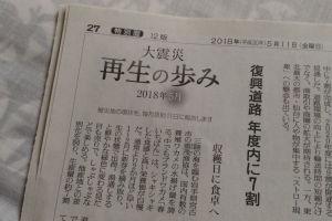 東日本大震災から7年2か月