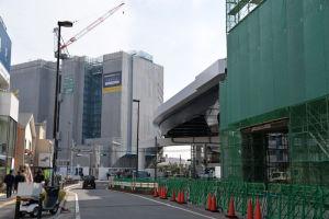 延伸工事北側2月28日(水)に撮影