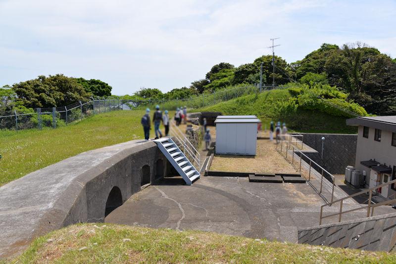 明治20年竣工の第四砲台