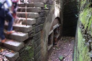 観測所地下の付属室