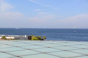 約7Km先の海上には第一海堡
