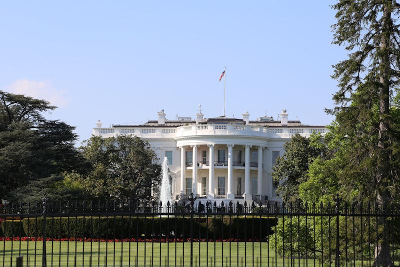 ホワイトハウスの裏側
