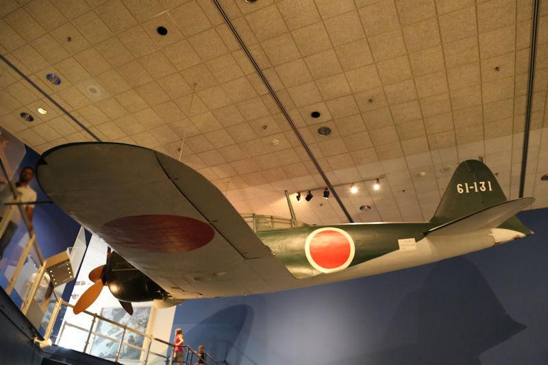 スミソニアン博物館のゼロ戦
