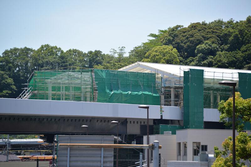 シーサイドライン金沢八景新駅舎