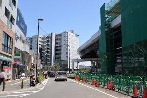 八景ビル跡地のマンション建設