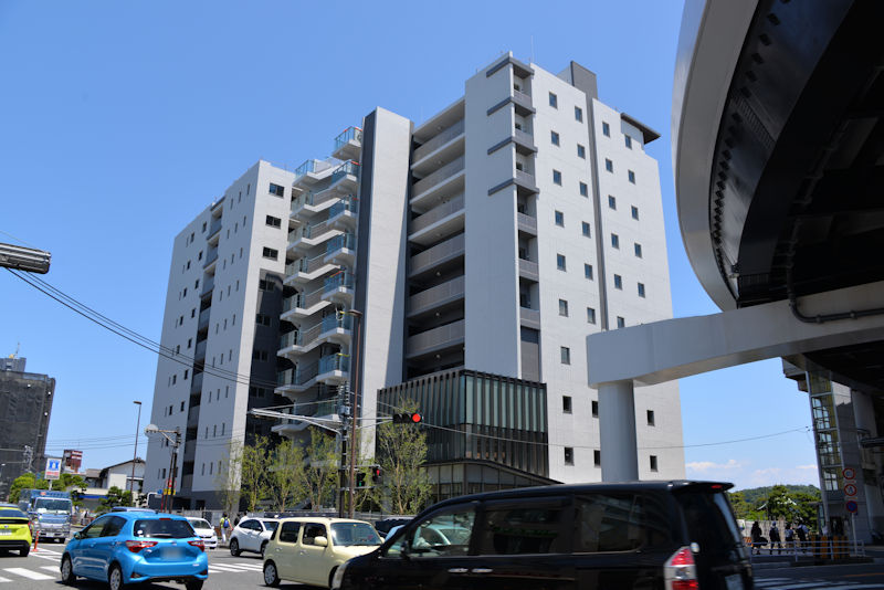 八景ビル跡地のマンション