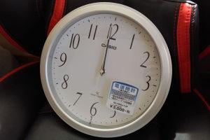 CASIO 電波掛け時計