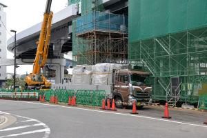 金沢八景駅舎2階に設備が入るようです