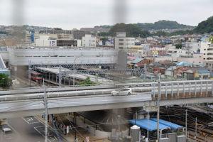 京急金沢文庫駅と西口ロータリー