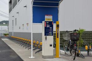 駐輪場精算機