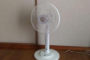 扇風機1台出しました