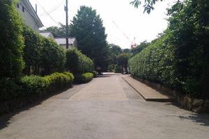 東門の参道
