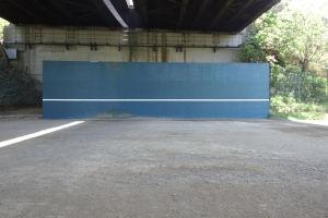 スポーツ会館壁打ち利用停止