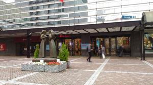 横浜高島屋正面入口
