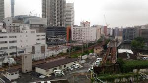 相鉄ジョイナス駐車場から南側の風景
