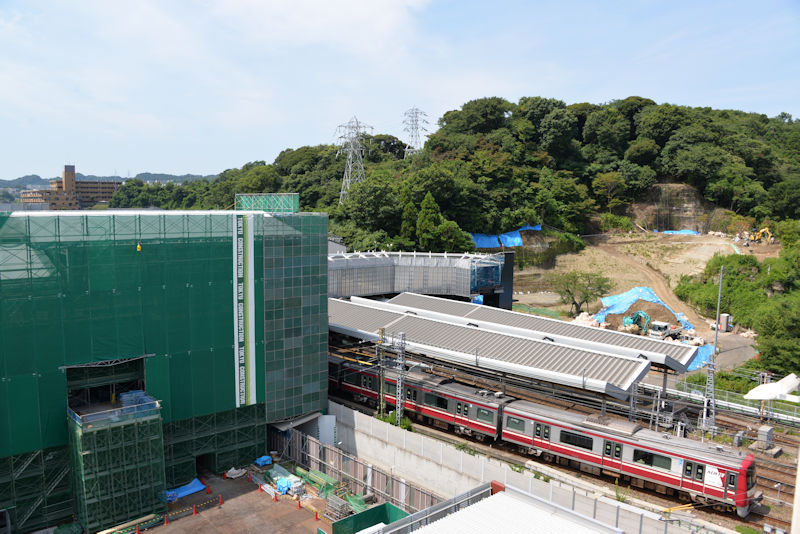 2018年7月11日シーサイドライン延伸工事