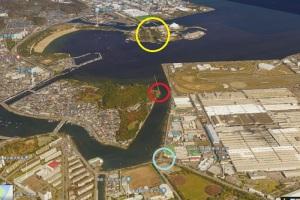 八景島から野島の運河を通り夏島までの延伸計画