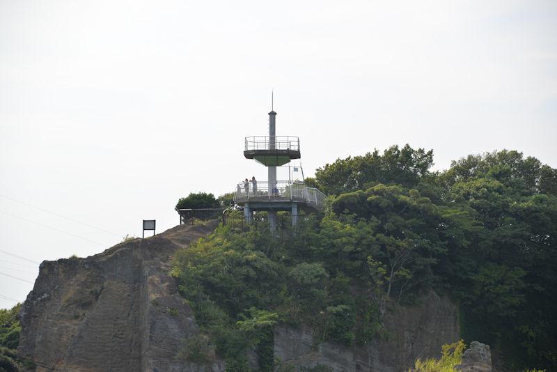 鷹取山は海抜139m