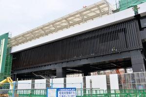 2018年7月25日シーサイドライン延伸工事