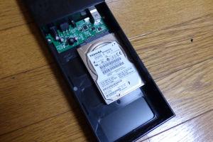 80GBのHDD