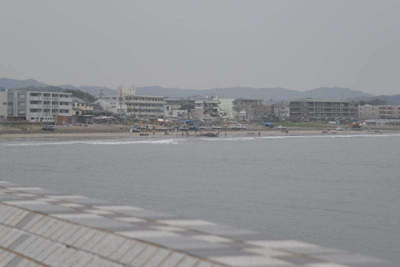 坂の下交差点を稲村ケ崎へ方向へ少し行った