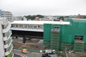 2018年9月3日シーサイドライン延伸工事