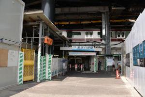 横浜市大方面の出口改札