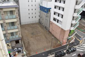 八景ビル跡地のマンションモデルルーム