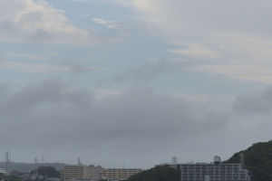 台風21号 大風の驚異