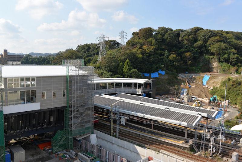 2018年10月18日シーサイドライン延伸工事
