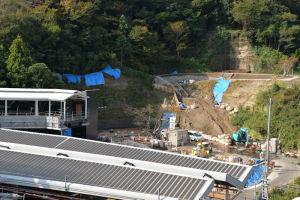金沢八景西公園(仮称)も形がみえてきました