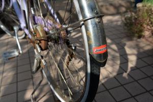 自転車大分ガタがきています