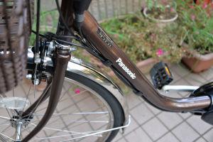パナ電動アシスト自転車