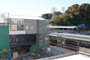 2018年11月15日シーサイドライン延伸工事