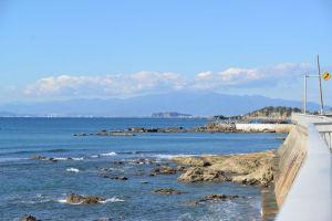 江の島までは約12Km
